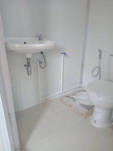 ตู้ออฟฟฟิศพร้อมห้องน้ำภายใน