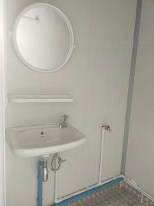 ตู้คอนเทนเนอร์แบบห้องน้ำห้องคู่